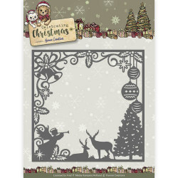 Yvonne Creations - Celebrating Christmas - Scene Square Frame - YCD10115