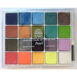 Chalk Kit - 20 Pearl Colours
