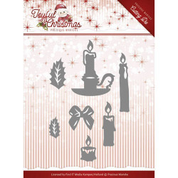 Embossing Folder - Precious Marieke - The nature of Christmas
