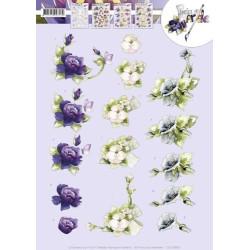 Pushout - Precious Marieke - The Nature of Christmas - Christmas Flowers - SB10183