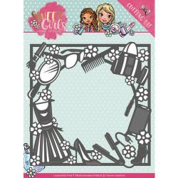 Yvonne Creations - Sweet Girls - Fashion Frame - YCD10119