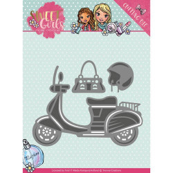 DIXI CRAFT - CLEARSTAMP - Sketch – Square - STAMP0099