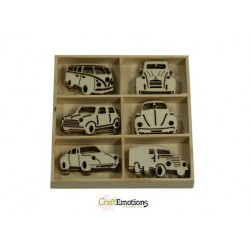 CraftEmotions Wooden -...