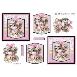 Leane Creatief - clear stamp - Background 3