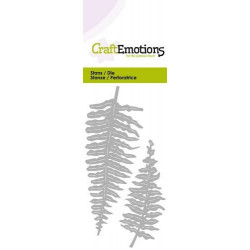 CraftEmotions - Fern Leaves...