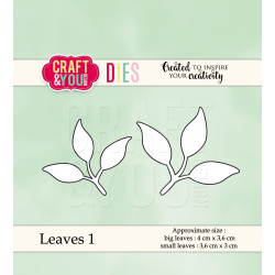 Craft & You - Leaves 1 - CW038