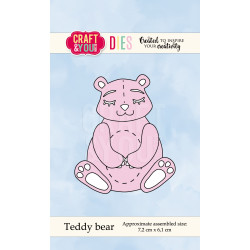 Craft & You - Teddy Bear  -...