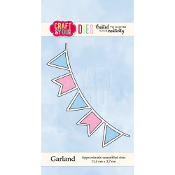 Craft & You - Garland - CW048