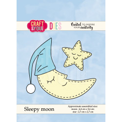 Craft & You - Sleepy Moon -...