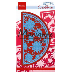 MARIANNE DESIGN - Collectables stencil - Eline's Village Decoration set 5 - COL1440