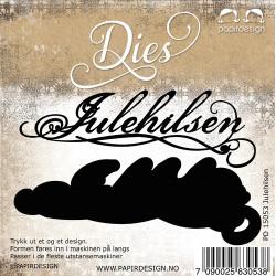 Papirdesign - Julehilsen -...