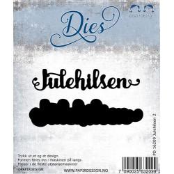 Papirdesign - Julehilsen 2...