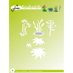 CraftEmotions - flower mix large - 0510