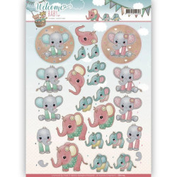 Amy Design - Vintage winter - Snowman - CD10983