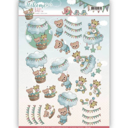 Amy Design - Vintage winter - Winterbirds - CD10984