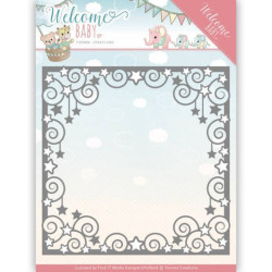 Yvonne Creations - Welcome Baby - Star Frame - YCD10135