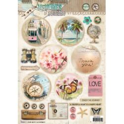 Marianne Design - Craftables - Advendt Candles - CR1425