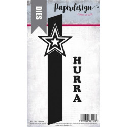 Papirdesign - Hurra - PD18412
