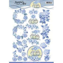 Jeanine's Art - Blue Roses...