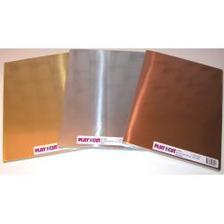 Metalkarton - A4 - Guld