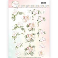 Leane Creatief - Flower foam assortment set 3 Salmon