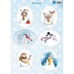 Marianne Design - Snowmen...