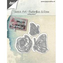 Nellie Snellen - Hobby solutions - Springflower-wreath
