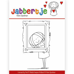 Jabbertje - Clear Stamp -...