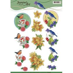 Jeanine's Art - Birds -...