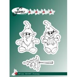 By Lene - Stempler - Gnomes...