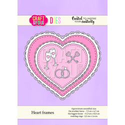 Craft & You - Heart Frames...