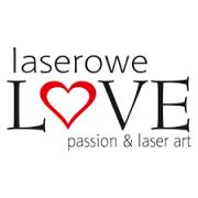 Laserowe LOVE